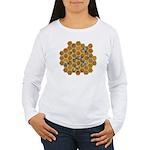 Honey Bees Women's Long Sleeve T-Shirt