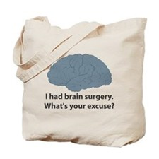 I had brain surgery. What's Tote Bag