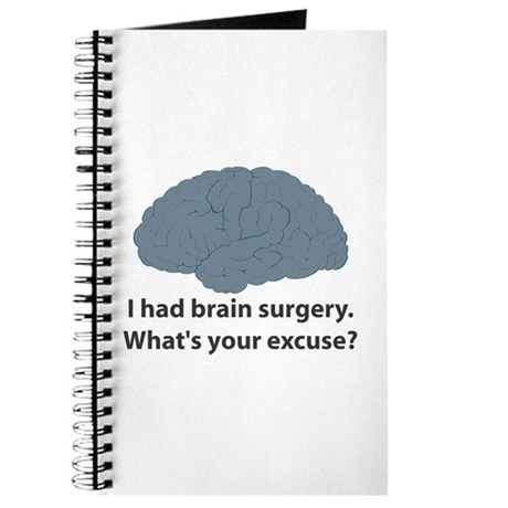I had brain surgery. What's Journal