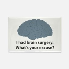 I had brain surgery. What's Rectangle Magnet