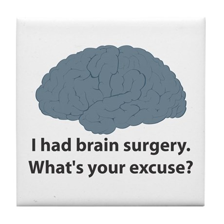 I had brain surgery. What's Tile Coaster