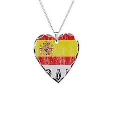 spain11 Necklace Heart Charm