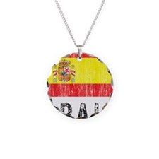 spain11 Necklace Circle Charm