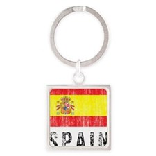 spain11 Square Keychain