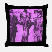 At The Club (1829 style) Throw Pillow