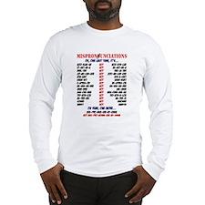 Mispronounciated Long Sleeve T-Shirt