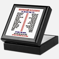 Mispronounciated Keepsake Box