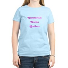 Commercial Claims Goddess T-Shirt