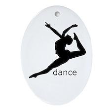 dance Oval Ornament