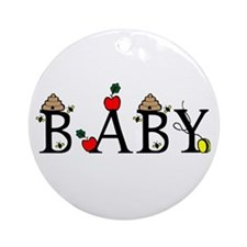 Baby Ornament (Round)