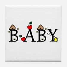 Baby Tile Coaster