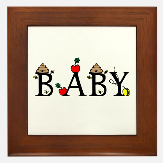 Baby Framed Tile