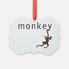 monkey34 Ornament