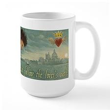 Cupid Lover's Path large mug
