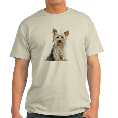Yorkie Sitting Pretty Light T-Shirt
