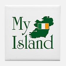 My Island Tile Coaster