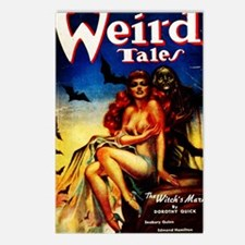 Weird Tales Jan Postcards (Package of 8)