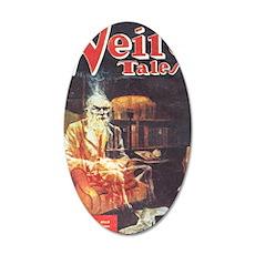 Weird Tales Sept 35x21 Oval Wall Decal