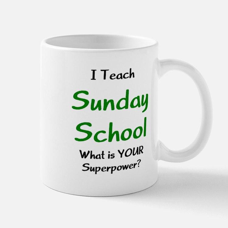 teach sunday school Mug