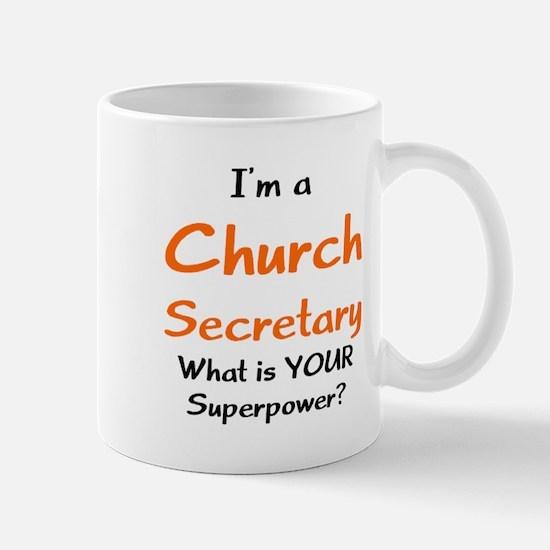church secretary Mug