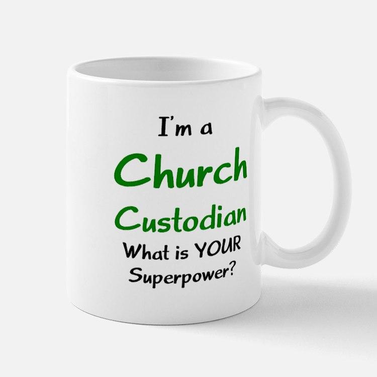 church custodian Mug
