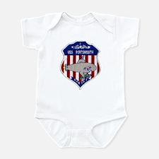 USS PORTSMOUTH Infant Bodysuit