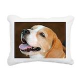 Beagle pillows Rectangle Canvas Pillows