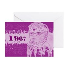 1967 Beatnik Greeting Cards (Pk of 10)
