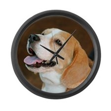 Beagle Dog  Large Wall Clock