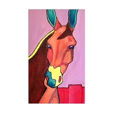donkey mule southwestern 002ed Decal