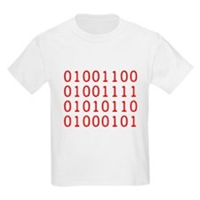 LOVE in Binary Code T-Shirt