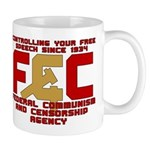 Communism and Censorhsip Mug