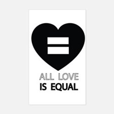All Love Is Equal Bumper Stickers