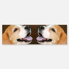 Beagle Dog Bumper Bumper Sticker