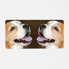 Beagle Dog Aluminum License Plate