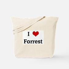 I Love Forrest Tote Bag