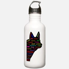 Blue Heeler Tribute Water Bottle