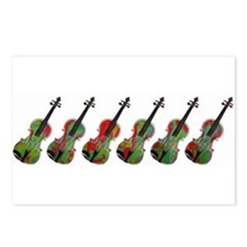 Violas on Parade Postcards (Package of 8)