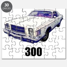 1979 Chrysler 300 t-shirt white Puzzle