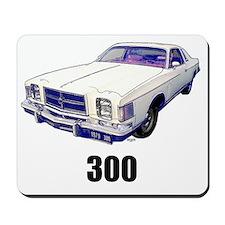 1979 Chrysler 300 t-shirt white Mousepad