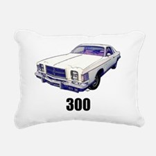 1979 Chrysler 300 t-shir Rectangular Canvas Pillow