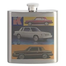 k car tshirt Flask
