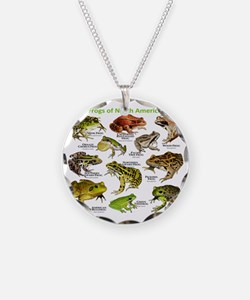 Frogs of North America Necklace