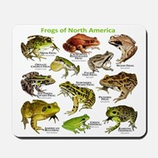 Frogs of North America Mousepad