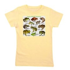 Frogs of North America Girl's Tee