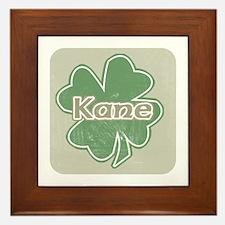 """""""Shamrock - Kane"""" Framed Tile"""