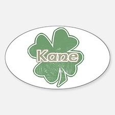 """""""Shamrock - Kane"""" Oval Decal"""