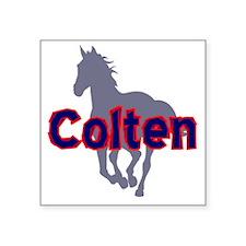 """colten Square Sticker 3"""" x 3"""""""