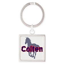 colten Square Keychain