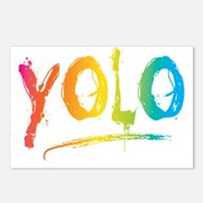 YOLO Bright Postcards (Package of 8)